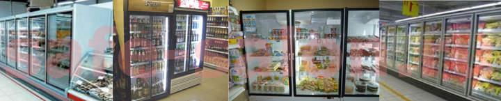 Стеклянные холодильные шкафы применение