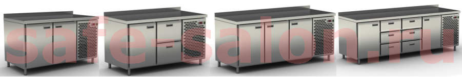 Холодильные столы Cryspi