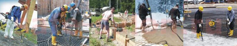 Купит глубинные вибраторы для бетона