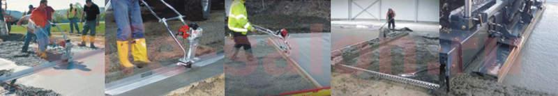 Купить плавающие виброрейки для бетона
