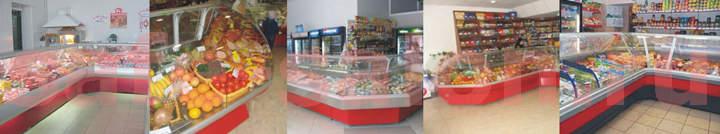 Витрины холодильные среднетемпературные OCTAVA
