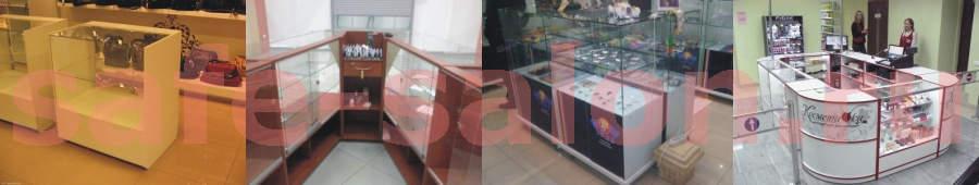 Купить стеклянную витрину прилавок